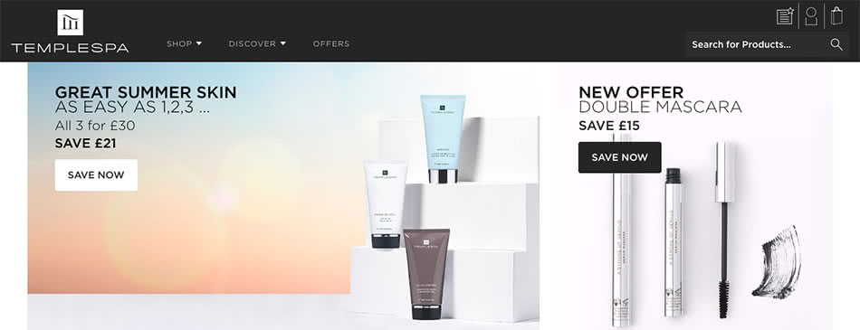 Templespa Offers