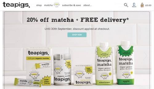 Teapigs Website