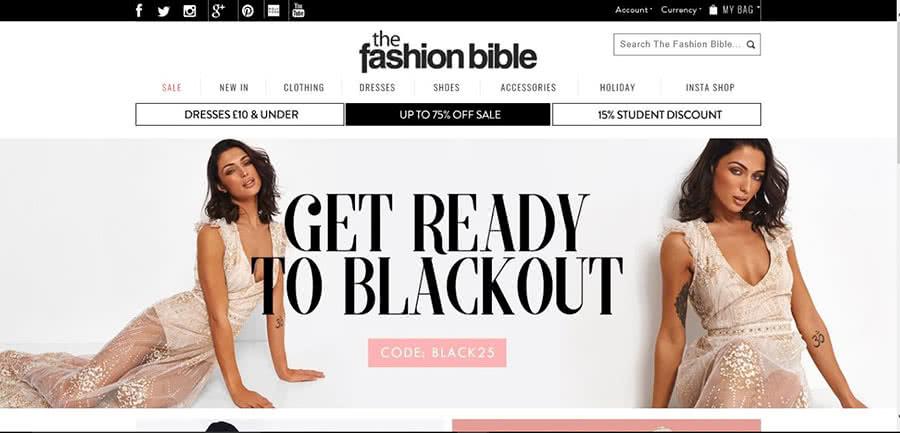 The Fashion Bible Coupon Code