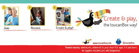 toucanBox Create and Play