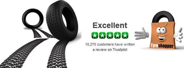 Tyre Shopper TrustPilot Reviews
