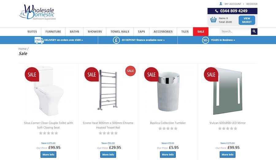 Wholesale Domestic Sale