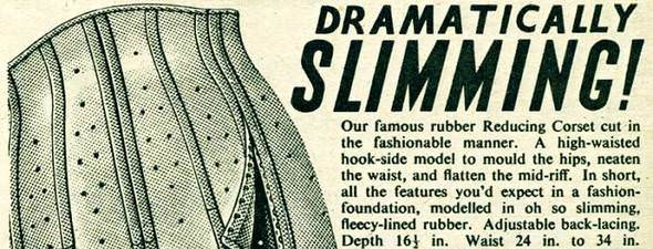 Ambrose Wilson corsets