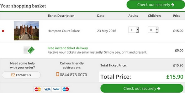 Attractiontix Ticket Booking
