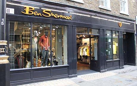 Ben Sherman Storefront