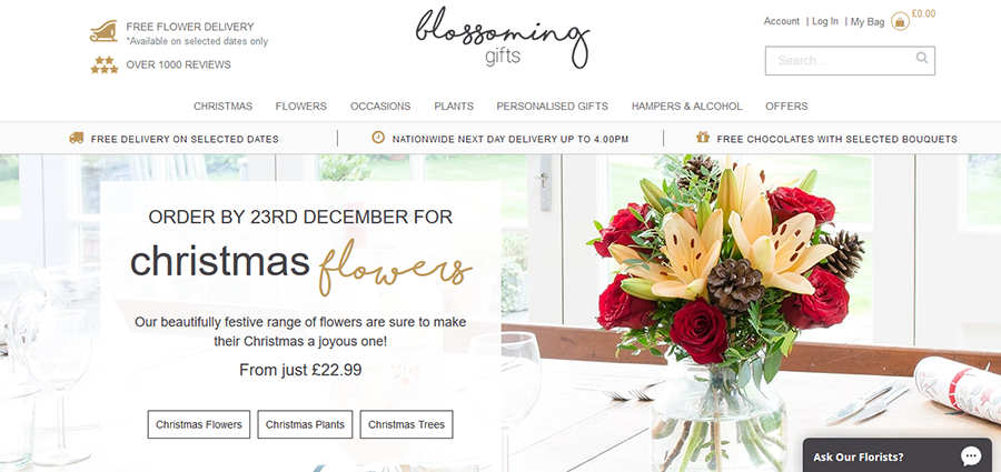 Blossomings Gifts Coupon Code
