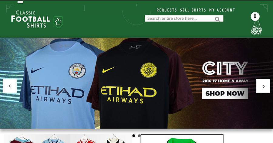 Classical Football Shirts voucher codes