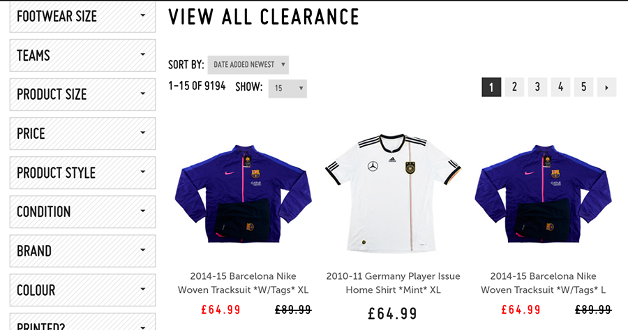 Classical Football Shirts coupon codes