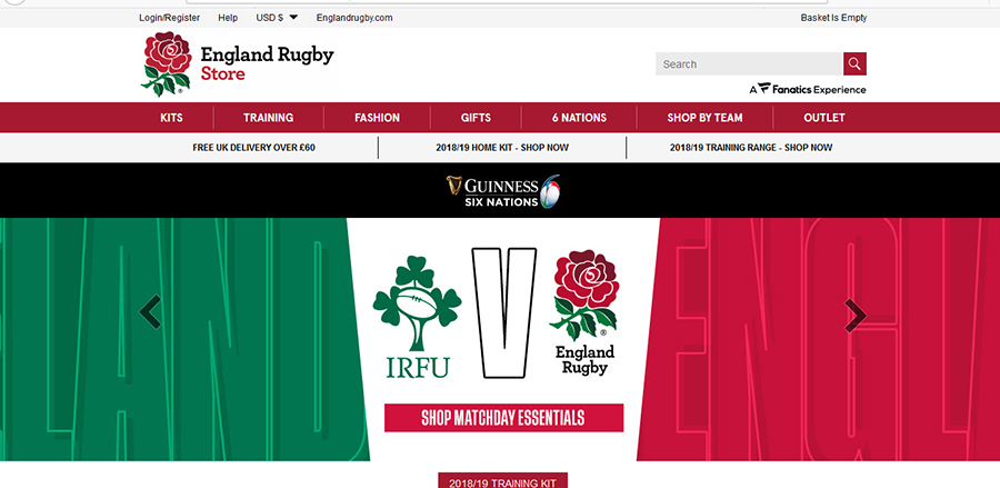 England Rugby Coupon Code