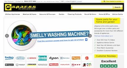 eSpares Website