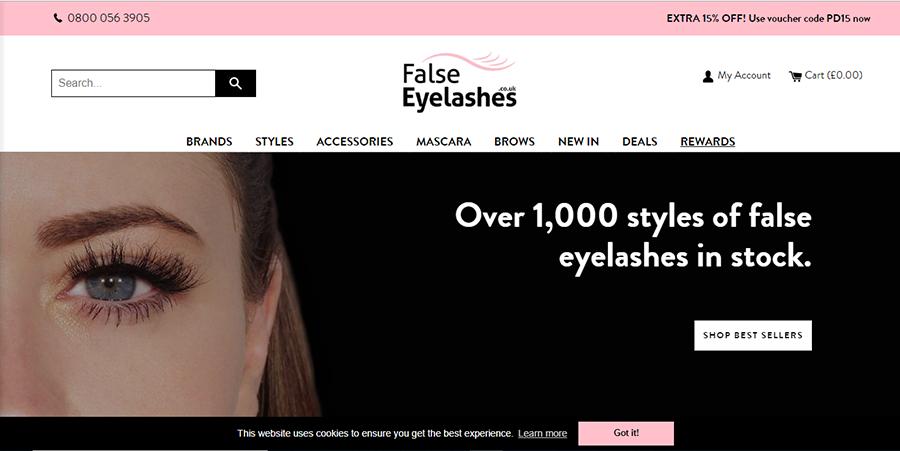 False Eyelashes Coupon Code