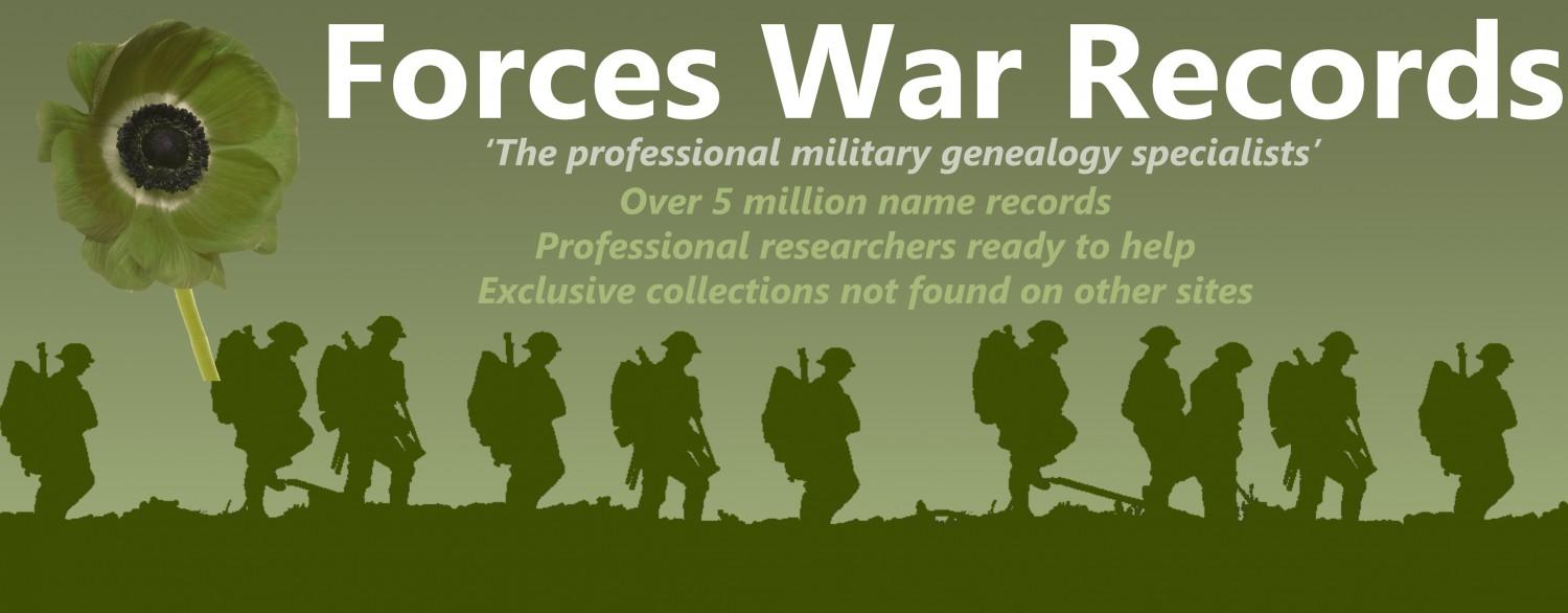 Forces War Records Ad