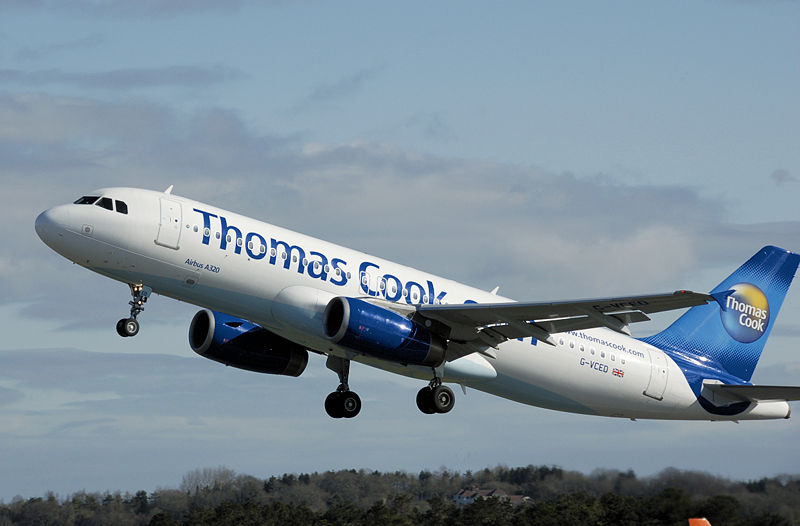 Fly Thomas Cook in Flight