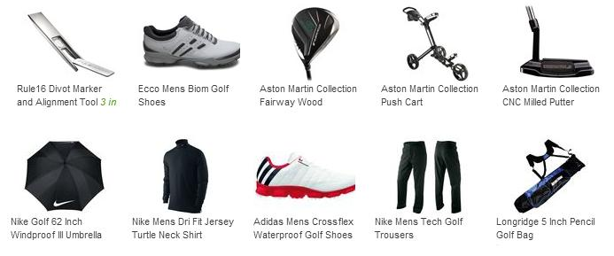 Golf Online Products