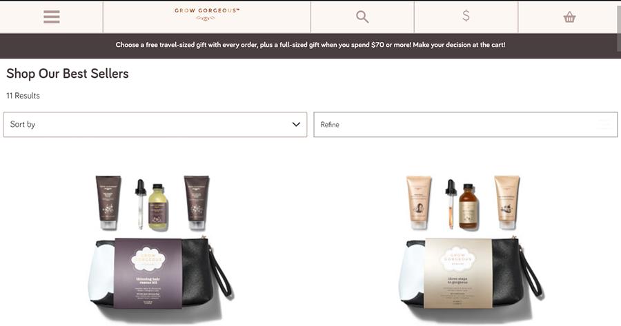 grow gorgeous coupon code