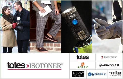 totes ISOTONER Brands