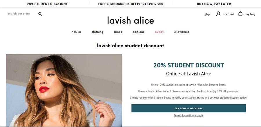 Lavish Alice voucher codes