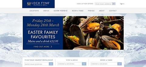 Loch Fyne website