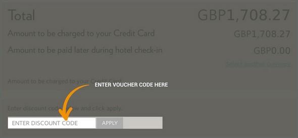Millennium Hotels voucher