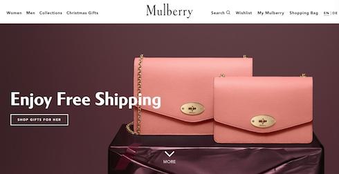 Mulberry Website