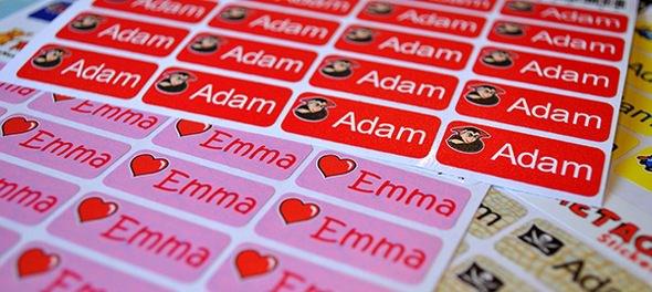 My Nametags Kids Name Labels