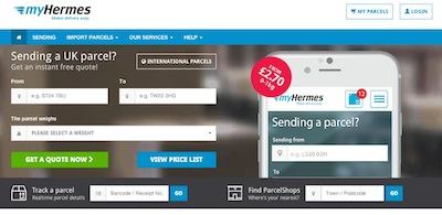 Myhermes Website