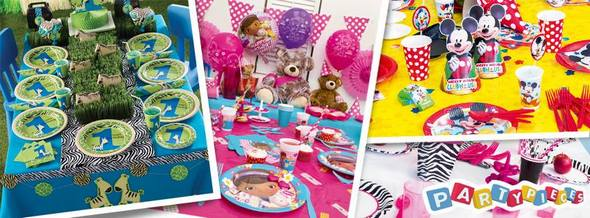 Party Pieces store