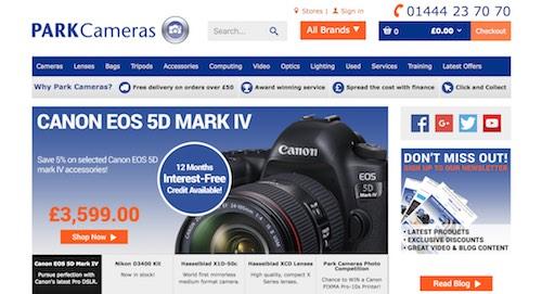 Park Cameras Website