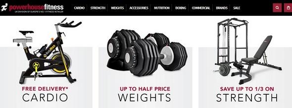 Powerhouse Fitness Equipment