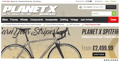 Planet X Website