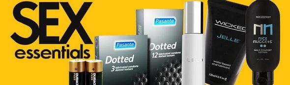 Sextoys.co.uk Condoms and Essentials