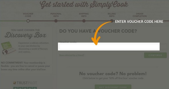 Simply Cook voucher