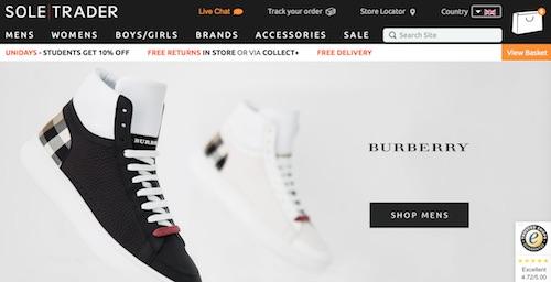 Soletrader Website