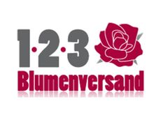 123 Blumenversand Logo