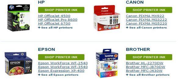 4inkjets printer ink and cartridge
