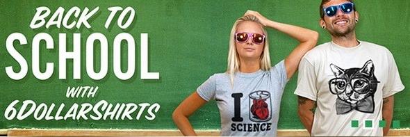 6 Dollar Shirts Back to School Theme