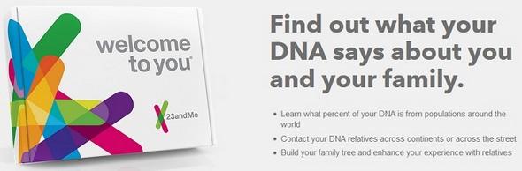 23andMe DNA Analysis
