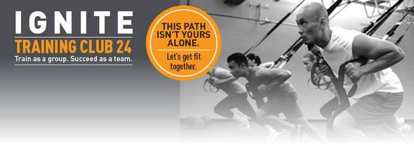 24 Hour Fitness Group Training
