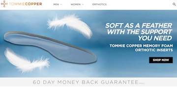 Tommie Copper Website
