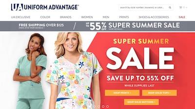 Uniform Advantage Website