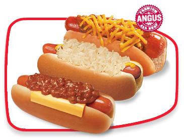 Wienerschnitzel Hot Dogs