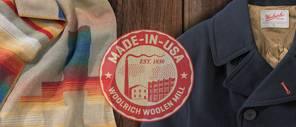 Woolrich Made in USA
