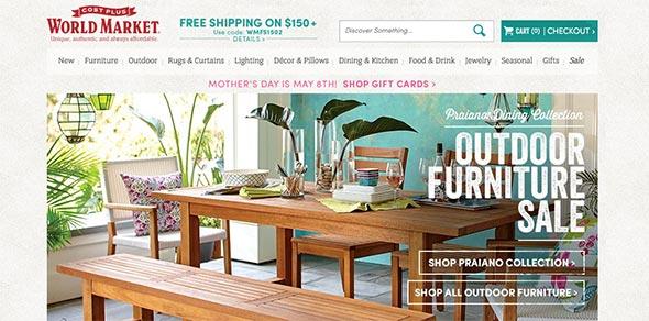 World Market Website