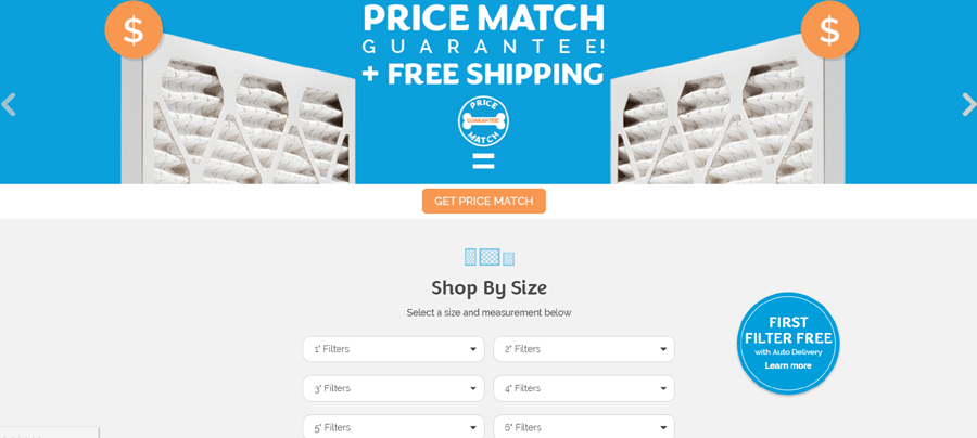 Air Filters Delivered promo Code