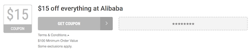 Alibaba Offer Terms
