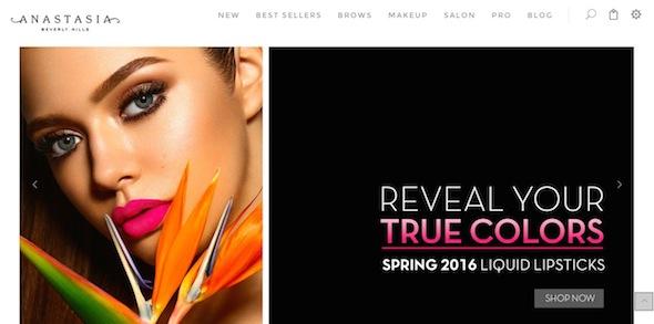 Anastasia Beverly Hills Website