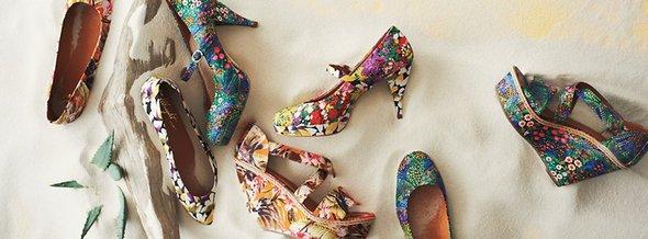 Funky Footwear at Anthropologie
