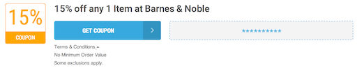 Barnes & Noble Offer Terms