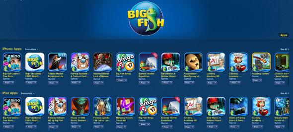 Big Fish Games Apps