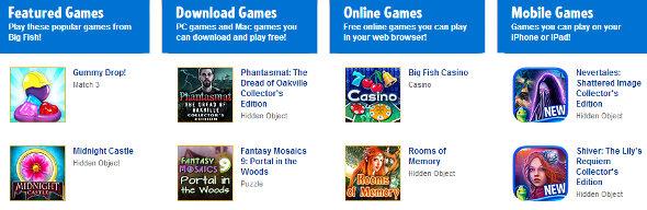 Big Fish Games Games
